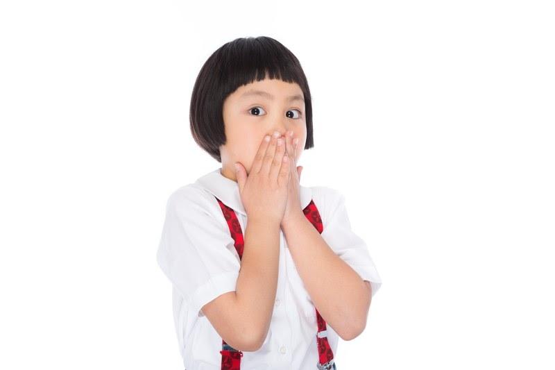 子供の鼻の下の産毛処理