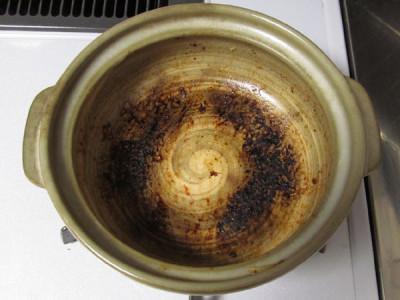 土鍋 底 焦げ